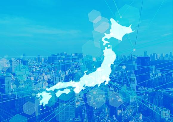全国どの地域でも代理店契約が可能。ビジネスをすぐに開始できるのイメージ